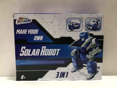 """Направи сам: """"Соларни робот"""""""