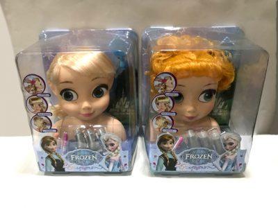 """""""Frozen"""" – глава за шминкање"""